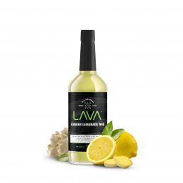 LAVA ginger lemonade cocktail mix