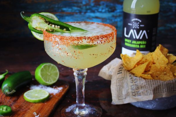 Spicy Jalapeno Margarita Mix Craft Cocktail Mixer