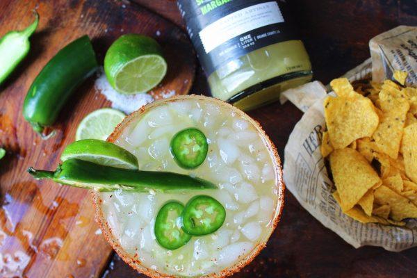 jalapeno margarita National Margarita Day LAVA Spicy Jalapeno Margarita Mixer