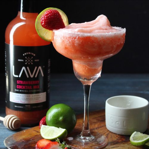 Quick And Easy Strawberry Daiquiri Recipe Rum Or Vodka Daiquiri Lava Craft Cocktail Mixers