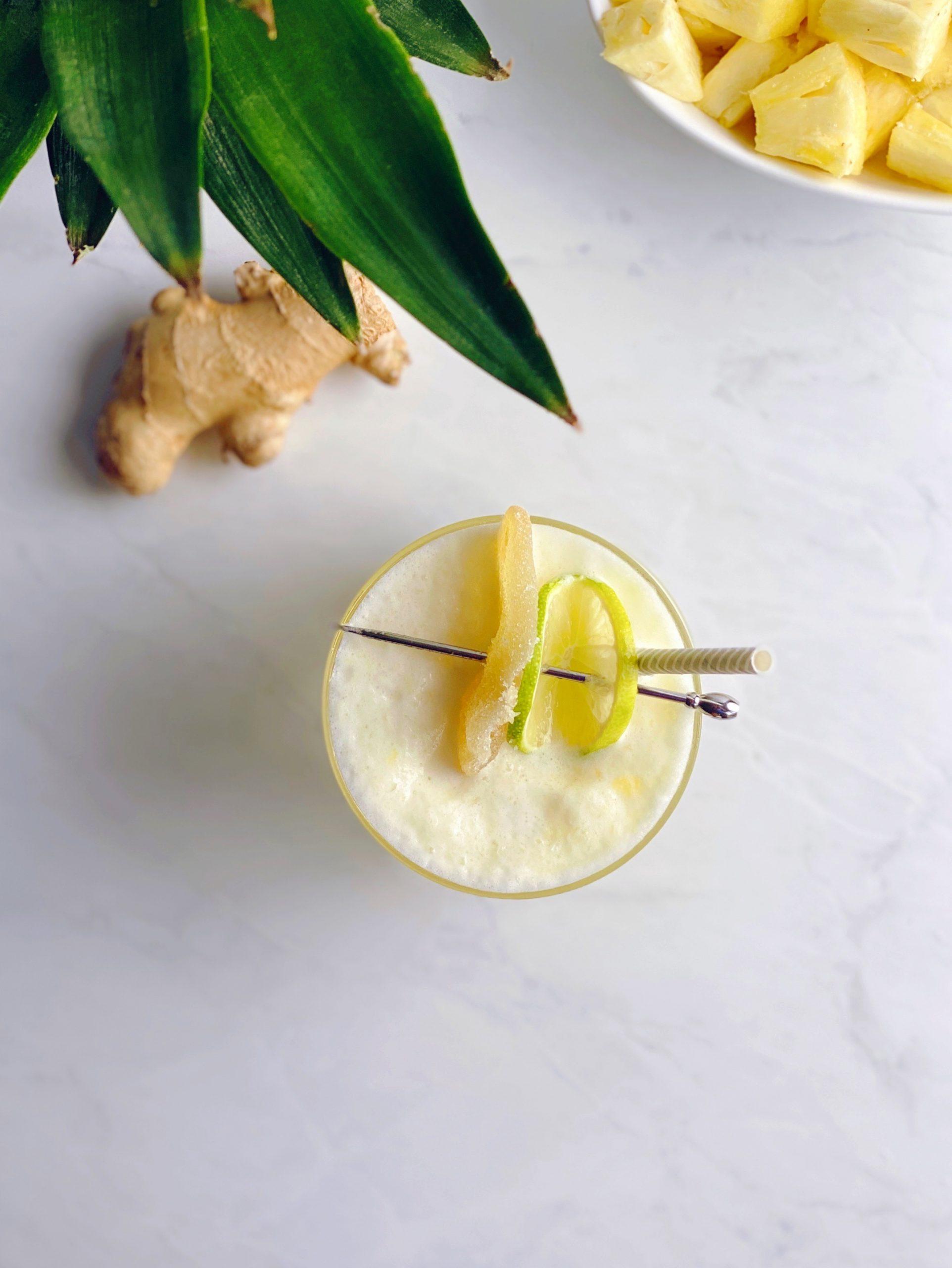Frozen Pineapple Moscow Mule Recipe