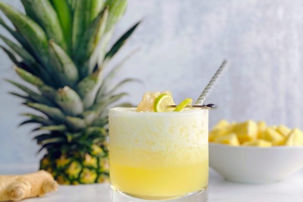 blended pineapple moscow mule recipe